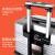 NTNL多機能出张斯ーツケススーツケース24インチ大容量箱360°キャタピラースーツケース女子学生TSAロック搭載箱20インチ機内持込可皮箱深灰色20センチー【機内持込みみ可_託送無料】