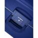 Samsonitye SAMSONIEスケス'CURE 10 Uシリーズおしゃれ純色の男女カードバックル旅行スーツケース深青色28センチー託送箱/75 x 52 x 31 cm