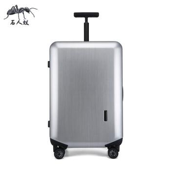 石人蟻のスーツケース20インチスポーツスポーツ小型女性旅行箱男性用軽便機内持ち込み可能TSAロックには、箱銀色20個が搭載されています。