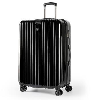 スイスサーキットツケスポーツ大容量静音360°キャスター28セブチ旅行鞄TSAロック搭載ロックボックス出张男女旅行スーツケース託送箱防除皮箱黒箱28セブチ全体30セブチ