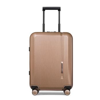 Samsonite/SAMSONIE SU-ツケ男の新型飛行機360°キャクタースーツケース女性おしゃれが出てきますTSAロッキングはスーツケースに搭載されています。機内持込み可子TQ 9バラゴールド20センチーを搭載しています。
