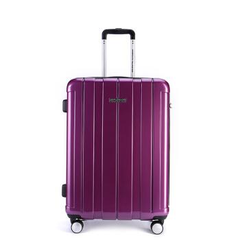 美旅スツーケス新商品飛行機360°キャクター静音トランク男おしゃれ出張旅行箱女性TSAロック搭載ケース内持込可子BJ 9*9102紫色25センチー