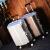 日本presidentアルミフレームのスーツケース新品女性韓国版旅行トランク360°キャバクタ男20/24/28センチ託送箱搭乗TSAロック搭載ステキシルバー-おしゃら亮面(男女通用)26センチー