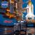 nasaおされスツーケ男性3 D立体旅行箱自動車PCデザイントランク新品Mar-X火星シリーズ公式ライセンス宇宙銀20インチ