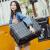 スウィーツ20インチスーツケース男女新品24スーツケース機内持込可TSAロック搭載箱360°キャクターレトロケース26センチブラックアルミフレーム24インチ