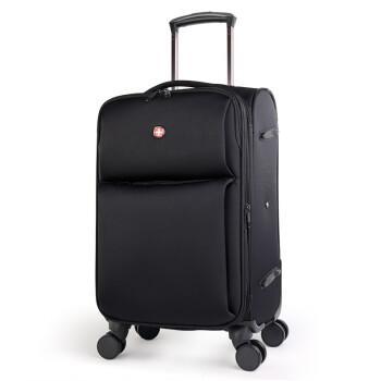 スイス軍刀スナイパーツケナイロンケース20/24/28センチ出張旅行TSAロックボックス搭載拡張層黒箱24センチ全体26センチ