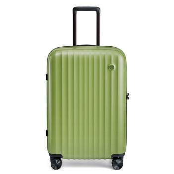 mi(MI)90分エルベ川スーツケース軽さスツーケスポーツ360°キャスターTSATSAロック搭載ロック純色スーツケース20インチ機内持込可牛油果緑20セチ