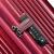 Samsonitye/SAMSONIEスススポーツ女性スーツケース男性新品おしゃれ旅行鞄TSAロック搭載箱耐磨耗360°キャクター機内持込み可DK 7宝石赤20センチー