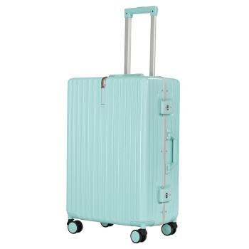 フィザースーツケースins旅行TSAロックは360°キャバクタを搭載しています。20女子学生24スーツケース26インチアルミフレームの氷河ブルー22インチは短距離旅行に適しています。20%が選択できます。