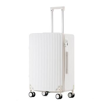 御旅研砂の新型超軽量スーツケース360°キャタピラー潮小型PCケーススツーケスポーツ男女20 24 26センチスーツケース白20セセンチー